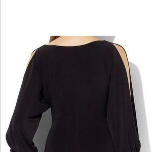Lauren by Ralph Lauren black gown.
